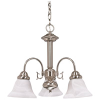 Nuvo Lighting Ballerina 3 Light Chandelier in Brushed Nickel 60/3181