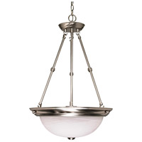 Nuvo 60/3187 Signature 3 Light 15 inch Brushed Nickel Pendant Ceiling Light