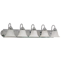 Ballerina 5 Light 36 inch Polished Chrome Vanity & Wall Wall Light