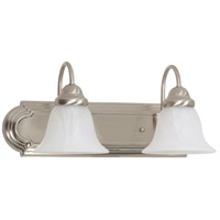 Ballerina 2 Light 18 inch Brushed Nickel Vanity & Wall Wall Light