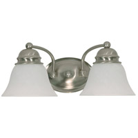 Nuvo Lighting Empire 2 Light Vanity & Wall in Brushed Nickel 60/3205