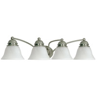 Empire 4 Light 29 inch Brushed Nickel Vanity & Wall Wall Light