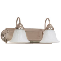 Nuvo 60/3208 Ballerina 2 Light 18 inch Brushed Nickel Vanity & Wall Wall Light