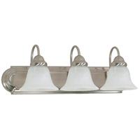 Nuvo 60/321 Ballerina 3 Light 24 inch Brushed Nickel Vanity & Wall Wall Light photo thumbnail