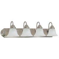 Ballerina 4 Light 30 inch Brushed Nickel Vanity & Wall Wall Light