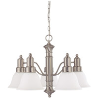 Nuvo Lighting Gotham 5 Light Chandelier in Brushed Nickel 60/3242