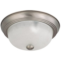 Nuvo Lighting Signature 2 Light Flushmount in Brushed Nickel 60/3261