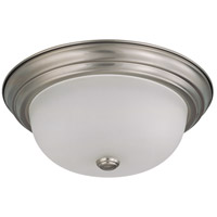 Nuvo 60/3262 Signature 2 Light 13 inch Brushed Nickel Flushmount Ceiling Light