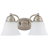 Nuvo Lighting Empire 2 Light Vanity & Wall in Brushed Nickel 60/3265