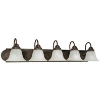 Nuvo 60/327 Ballerina 5 Light 36 inch Old Bronze Vanity & Wall Wall Light
