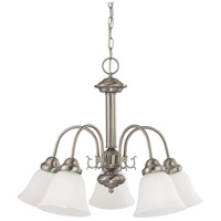 Nuvo Lighting Ballerina 5 Light Chandelier in Brushed Nickel 60/3290 photo thumbnail
