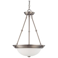 Signature 3 Light 15 inch Brushed Nickel Pendant Ceiling Light
