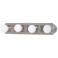 Signature 4 Light 24 inch Brushed Nickel Vanity & Wall Wall Light