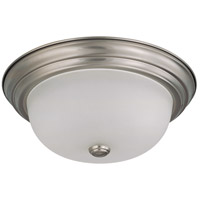 Nuvo 60/3312 Signature 2 Light 13 inch Brushed Nickel Flushmount Ceiling Light