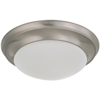 Nuvo Lighting Signature 1 Light Flushmount in Brushed Nickel 60/3314