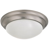 Nuvo Lighting Signature 2 Light Flushmount in Brushed Nickel 60/3315