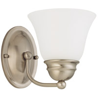 Nuvo Lighting Empire 1 Light Vanity & Wall in Brushed Nickel 60/3317