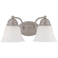 Nuvo Lighting Empire 2 Light Vanity & Wall in Brushed Nickel 60/3318