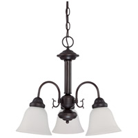 Nuvo Lighting Ballerina 3 Light Chandelier in Mahogany Bronze 60/3332