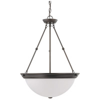 Signature 3 Light 20 inch Mahogany Bronze Pendant Ceiling Light