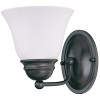 Empire 1 Light 6 inch Mahogany Bronze Vanity & Wall Wall Light