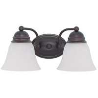 Nuvo Lighting Empire 2 Light Vanity & Wall in Mahogany Bronze 60/3356