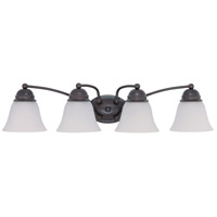 Nuvo Lighting Empire 4 Light Vanity & Wall in Mahogany Bronze 60/3358