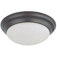 Nuvo 60/3366 Signature 2 Light 14 inch Mahogany Bronze Flushmount Ceiling Light photo thumbnail