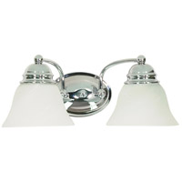 Nuvo Lighting Empire 2 Light Vanity & Wall in Polished Chrome 60/337