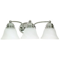 Nuvo 60/338 Empire 3 Light 21 inch Polished Chrome Vanity & Wall Wall Light photo thumbnail