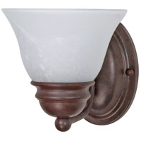 Empire 1 Light 6 inch Old Bronze Vanity & Wall Wall Light