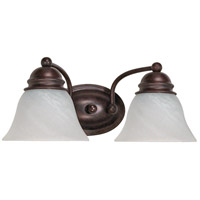 Nuvo Lighting Empire 2 Light Vanity & Wall in Old Bronze 60/345