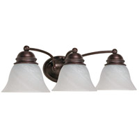 Empire 3 Light 21 inch Old Bronze Vanity & Wall Wall Light