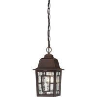 Nuvo 60/3490 Banyon 1 Light 6 inch Rustic Bronze Outdoor Hanging Lantern