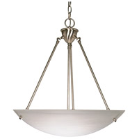 Signature 3 Light 23 inch Brushed Nickel Pendant Ceiling Light