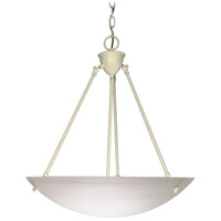 Signature 3 Light 23 inch Textured White Pendant Ceiling Light