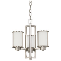 Nuvo Lighting Odeon 3 Light Chandelier in Brushed Nickel 60/3805