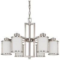Nuvo 60/3806 Odeon 6 Light 28 inch Brushed Nickel Chandelier Ceiling Light photo thumbnail