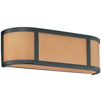 Nuvo Lighting Odeon 2 Light Vanity & Wall in Aged Bronze 60/3822