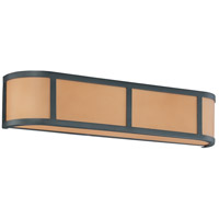 Nuvo Lighting Odeon 3 Light Vanity & Wall in Aged Bronze 60/3823