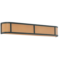 Nuvo Lighting Odeon 4 Light Vanity & Wall in Aged Bronze 60/3824