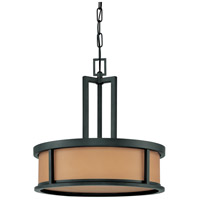 Nuvo Lighting Odeon 4 Light Pendant in Aged Bronze 60/3827