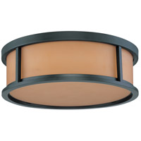 Nuvo Lighting Odeon 3 Light Flushmount in Aged Bronze 60/3832