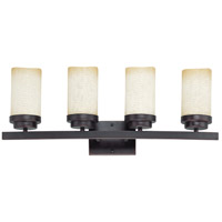 Nuvo Lighting Lucern 4 Light Vanity & Wall in Patina Bronze 60/3844