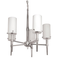 Nuvo Lighting Jet 5 Light Chandelier in Polished Chrome 60/3865