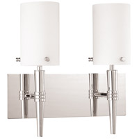 Nuvo Lighting Jet 2 Light Vanity & Wall in Polished Chrome 60/3867