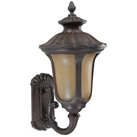 Nuvo Lighting Beaumont 1 Light Outdoor Wall with Photocell Lantern in Fruitwood 60/3901