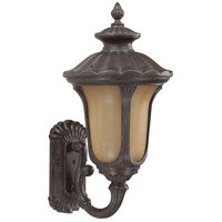 Nuvo Lighting Beaumont 1 Light Outdoor Wall with Photocell Lantern in Fruitwood 60/3903
