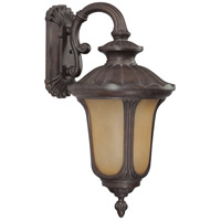 Nuvo Lighting Beaumont 1 Light Outdoor Wall with Photocell Lantern in Fruitwood 60/3904