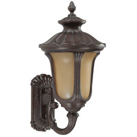 Nuvo Lighting Beaumont 1 Light Outdoor Wall Lantern with Photocell in Fruitwood 60/3905